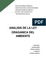 Ley Organica Del Ambiente II