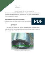 Proses Pembuatan Screw Conveyor