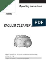 Manual for Samsung Vacuum