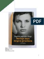 Mijn Fictiedossier 1- Nederlands Meisje Met de Negen Pruiken