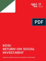 ROSI Retorno de Inversion en Redes Sociales