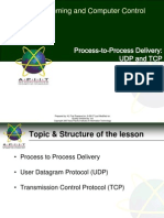 UCTI SPACC 04 Process to Process Delivery UDP and TCP