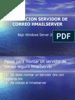 Instalación Servidor de Correo HMAILSERVER
