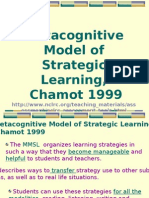 06-Metacognitive Model of Strategic Learning