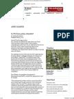 General Farm Policy - May 2013