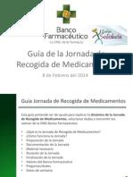 Jornada Recogida Medicamentos Zafra