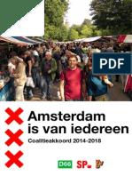 Coalitiekkoord Amsterdam 2014-2018