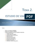 Presentación Clase_TEMA 2. Estudio de Viabilidad