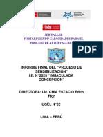 Informe Final -Ipeba-ugel 02