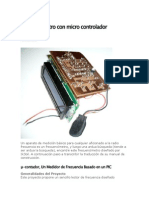 Frecuencímetro Con Micro Controlador