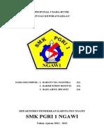 Proposal Usaha Butik