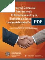 Arbitraje Comercial Publicaciones Reconicimiento Ejecucion Sentencias Laudos 2013