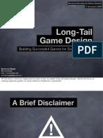 Long Tail Game Design