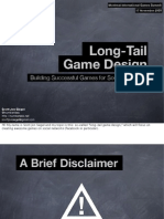 Long Tail Game Design