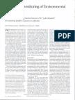As Article Biomonitoring