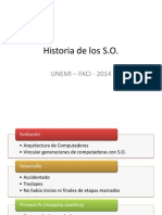 Historia de los S.O.