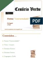 Cesrio Verde Anlise Do Poema Contrariedades 4987