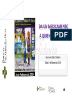 Memoria Proyecto Banco Farmacéutico Zafra Solidaria