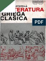 Cantarella, Raffaele - La Literatura Griega Clásica