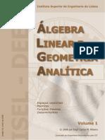 Algebra Linear e Geometria Analítica v.1