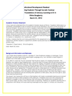 professional development handout