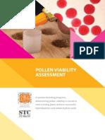 Pollen viability assessment