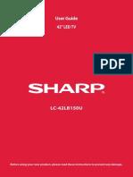 Sharp Lc-42lb150u 13-0432 Web v1 Eng Final Rg1