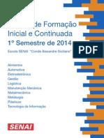 Revista de Cursos Fic1º Semestre 2014