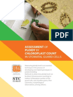 Assessment of ploidy by chloroplast count in stomatal guard cells