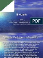 E Health Applications