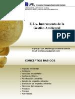 EIA. to Gestion Ambiental