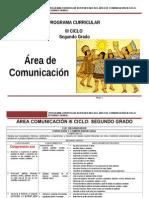 Área Comunicación Integral III Ciclo_2º Rutas