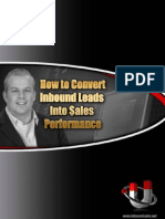 How to Convert Inbound Leads Into Sales Performance