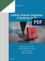 Teacher Migration Study