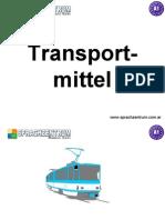 Medios de Transporte, Aleman