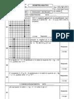 Práctica de Geometría Analítica