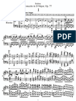 johannes Brahms, violin concerto