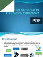 (1)Conceptos Generales de Planeacion Estrategica