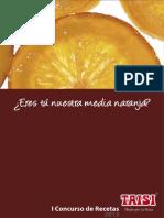 Ebook de Recetas Taisi Naranja Confitada