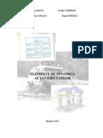 Elemente de Dinamica a Autovehiculelor