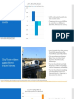 Slides from a presentation to the Surrey Transportation and Infrastructure Committee in 2013