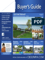 Coldwell Banker Olympia Real Estate Buyers Guide June 14th 2014