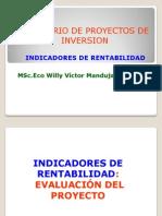 Indicadores de rentabilidad-Eval Proy.ppt