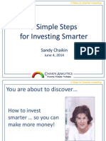 5 Simple Steps for Investing Smarter