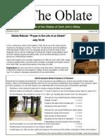 Oblate Newsletter Summer 2014