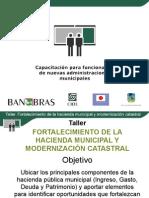 Presentación Hacienda Municipal y Modernización Catastral
