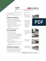Installation Guide of DS-8100-S DVR (V2.0.1)