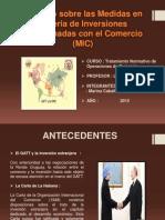 Acuerdo Sobre Las Medidas en Materia de Inversiones