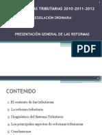 Reformas Tributaria 2010-2012