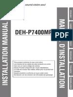 Deh p7400mp